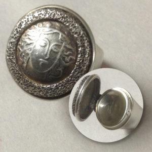 Sterling Silver Medusa Locket