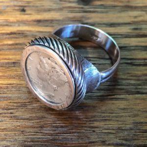 Dime Ring