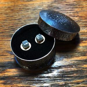 Raw Square Diamonds in Keepsake Box