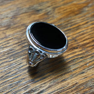 Silver Onyx Ring 2