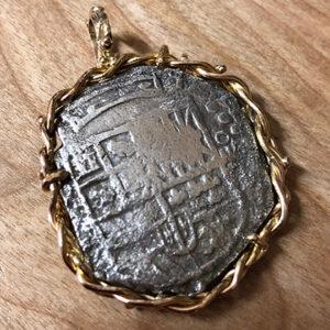 Custom Atocia Coin Pendant