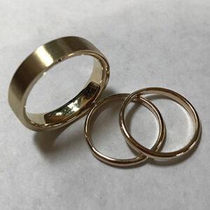 Custom Gold Wedding Bands