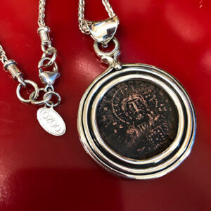 Custom Pendant for Ancient Coin