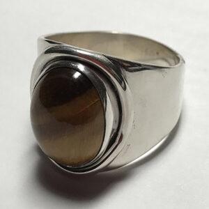 Custom Tiger Eye Ring
