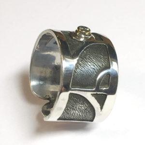Cutout Custom Design, Sterling Silver